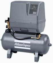 Поршневой компрессор Atlas Copco LFx 1,0 1PH на ресивере(50 л)